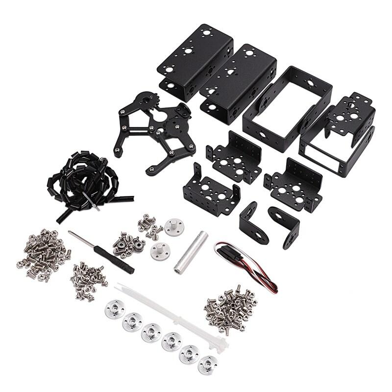 Bảng giá 6 DOF Robot Manipulator Metal Alloy Mechanical Arm Clamp Claw Kit MG996R for Arduino Robotic Education Phong Vũ