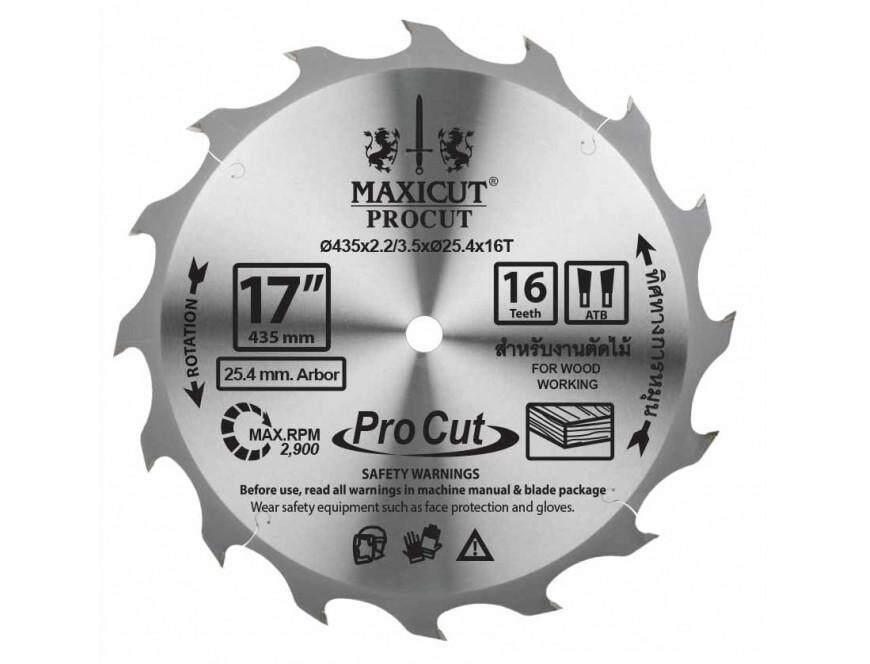 ใบเลื่อยวงเดือน Size : 16x30t Maxicut Procut By Toolsclub-Online.
