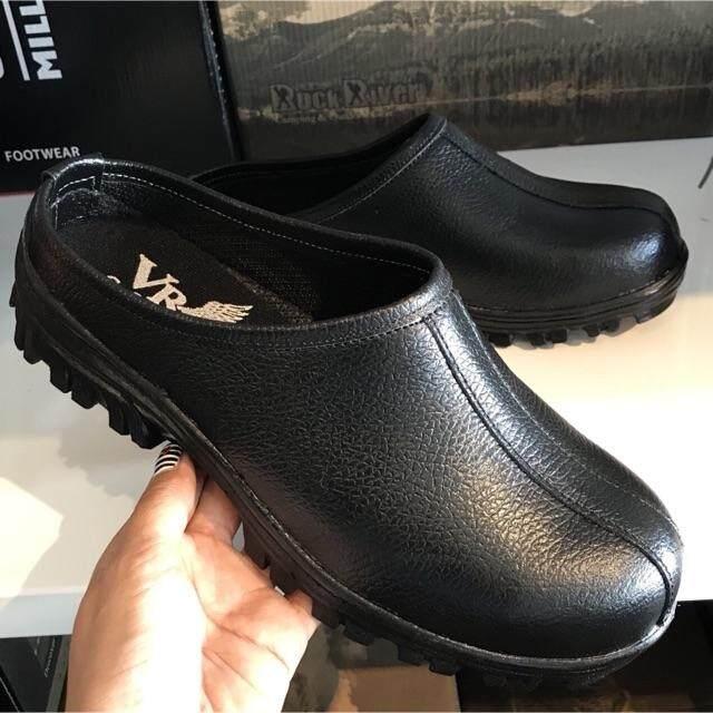 VR Safety Shoes รองเท้านิรภัยแบบเปิดส้น รุ่น NG-508