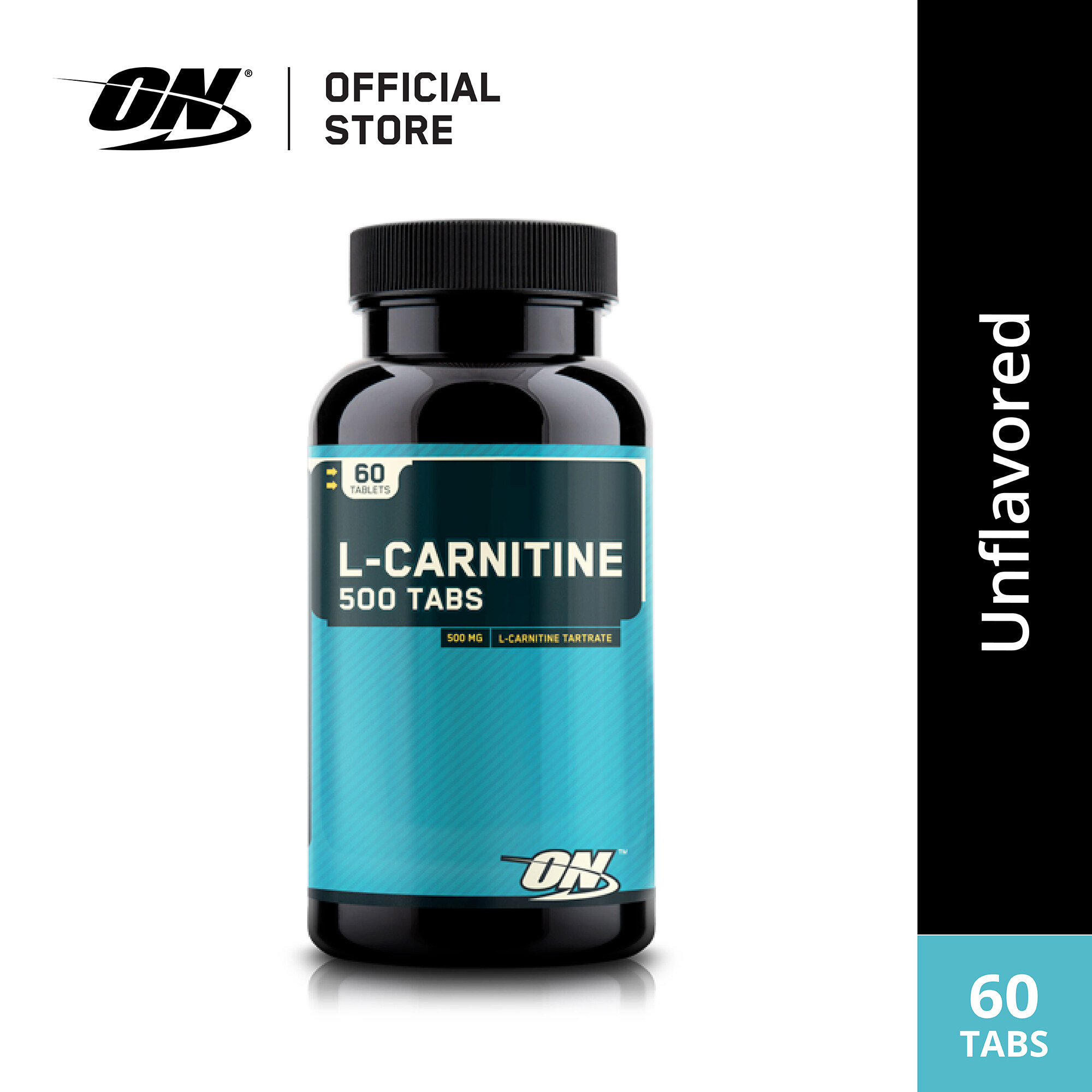 Optimum Nutrition L-Carnitine 500mg 60 Tab เผาผลาญไขมัน