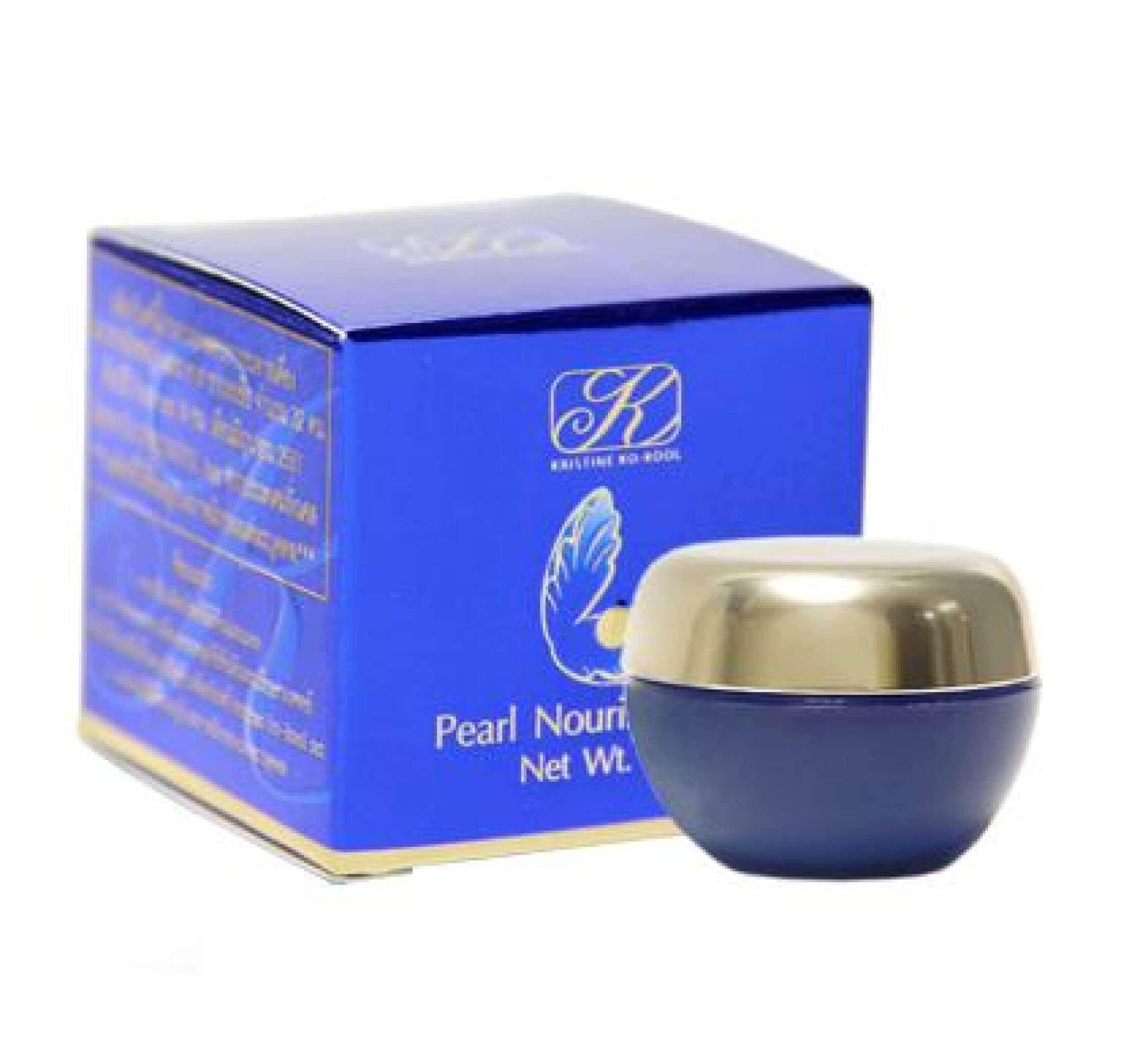 ครีมมุกเล็ก คังเซน คริสติน โคคูล เพิร์ล นอริช ครีม(Pearl Nourish Cream) แท้100% ครีมไข่มุกคังเซน เพิร์ล นอริชครีม 5G.