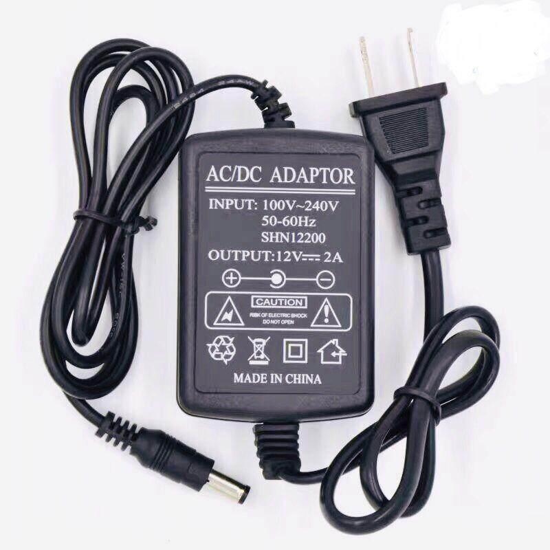 12v2a Dc อะแดปเตอร์ Adapter 12v 2a 2000ma (dc 5.5 X 2.5mm)..