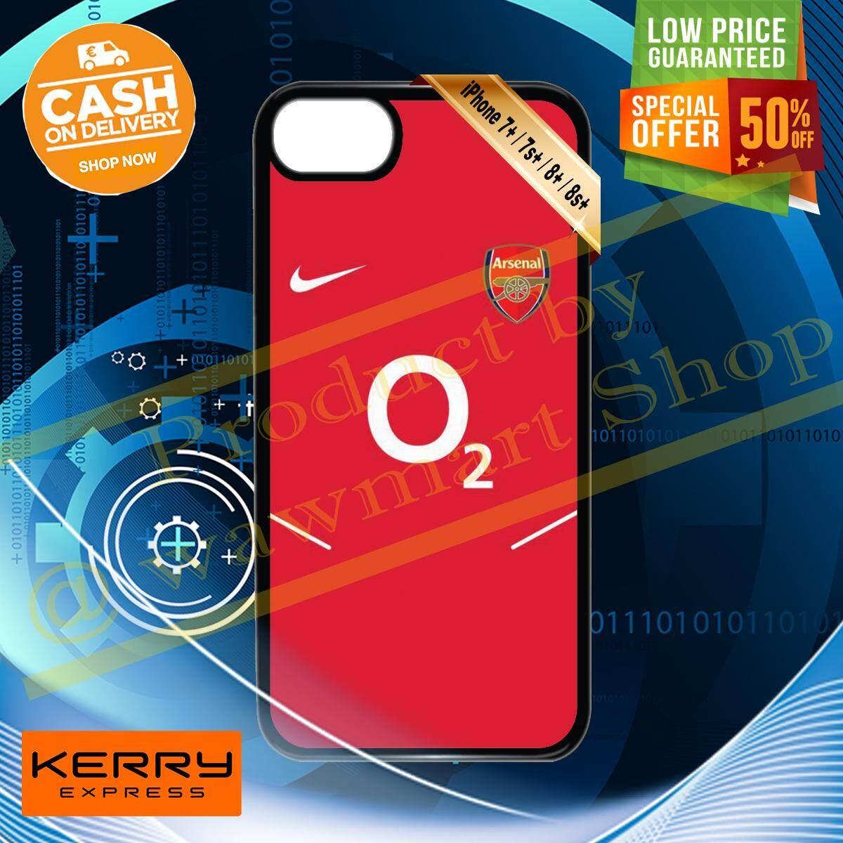 (เตรียมส่งใน 1-3 วันทำการ) ร้าน ขาย เคส มือ ถือ สำหรับ I Phone 7 / 7 Plus / 8 / 8 Plus / 7 พลัส / 8 พลัส Custom Diy Design Black A1 Hd Print สกรีน พิมพ์ลาย ทีม Arsenal Football Club ไอ้ปืนใหญ่ พรีเมียร์ลีก วัสดุ ซิลิโคน Tpu แบบนิ่ม ราคาถูกมากก.
