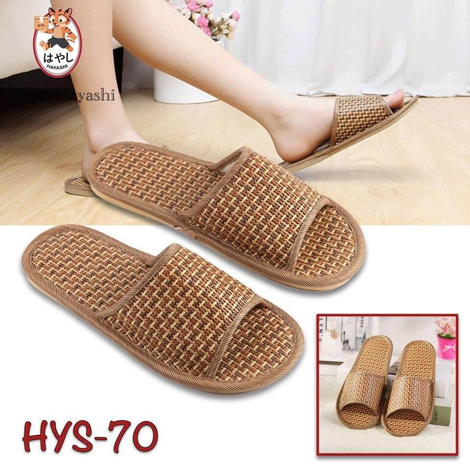[ HYS-070 ] Gion - รองเท้าแตะใส่ในบ้าน รองเท้าแตะห้องน้ำกันลื่น แบบยาง สวมใส่นุ่มสบายเท้า
