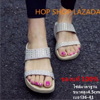 รองเท้าหญิง รองเท้าแตะหญิง เพื่อสุขภาพ เบา นุ่ม ใส่สบาย เพื่อสุขภาพสไตล์ยุโรป IRSOEของแท้ 100%