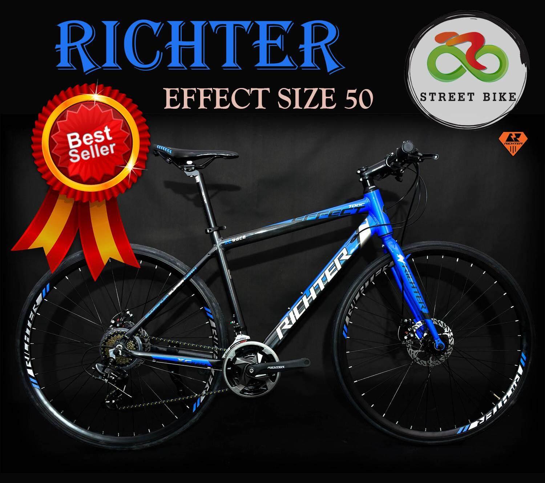 ---new---จักรยานไฮบริด Ritchter 700c Effect Size 50 By Streetbike-huahin.