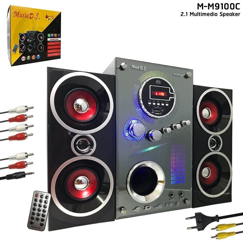Music D.j. M-M9100c + Bluetooth Fm Usb (2.1).