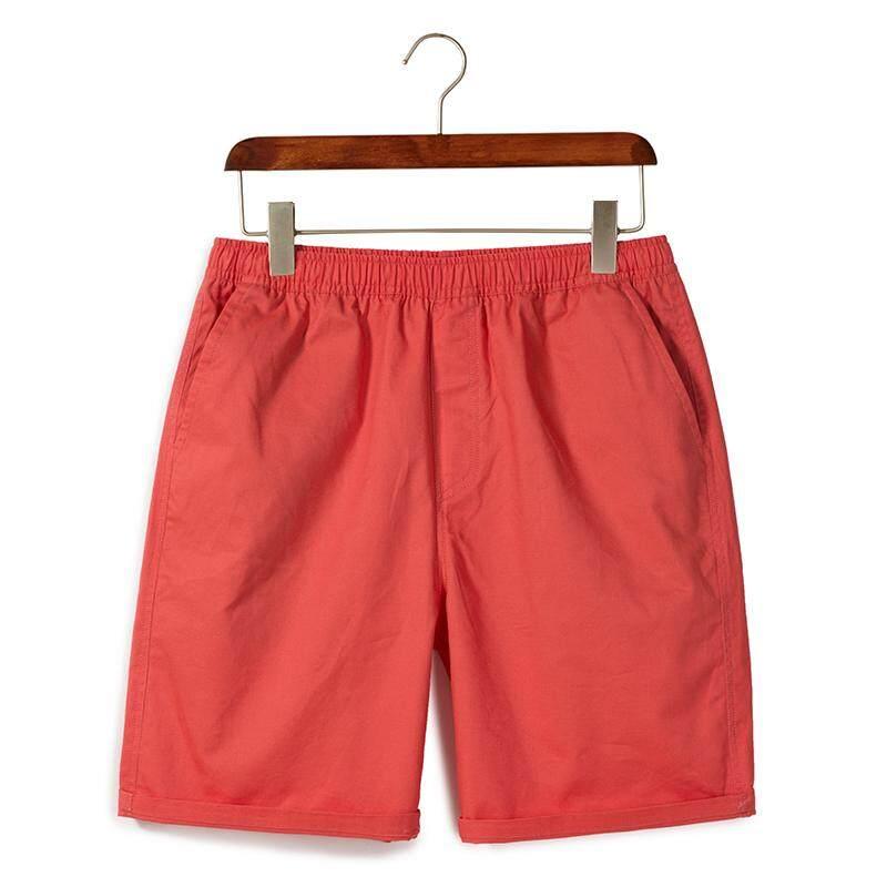 Celana Pendek Kasual Pria Musim panas longgar celana setengah paha katun murni pasangan celana pendek pakaian musim panas celana pantai Model pria anak laki-laki dan perempuan