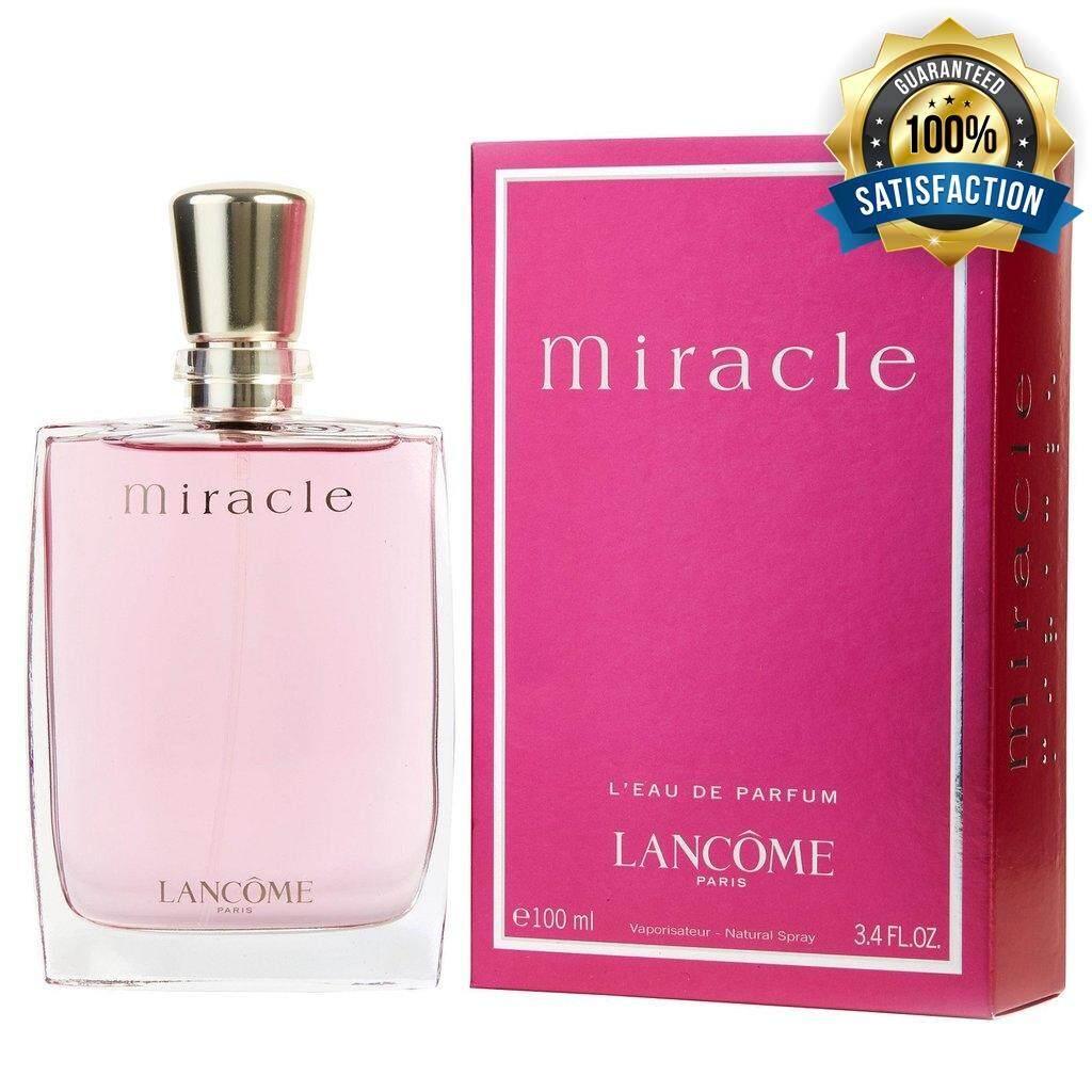 Lancome Miracle EDP 100 ml. โปรโมชั่นนี้มีจำนวนจำกัด รีบๆกันเลยพลาดไม่ได้แล้ว!!!
