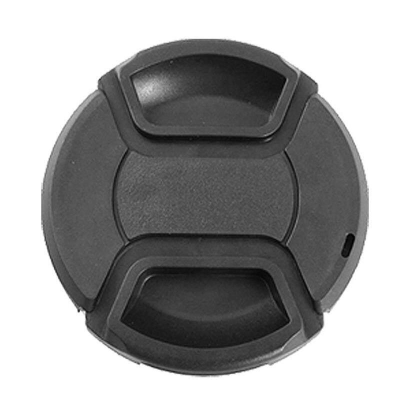 Univeral Camera 49mm Front Lens Cap Protector Black