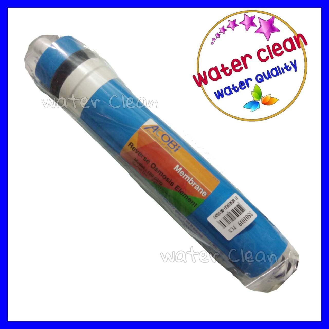 ไส้กรอง Membrane Ro 150 Gpd 0.0001 Micron ขนาดมาตรฐาน.