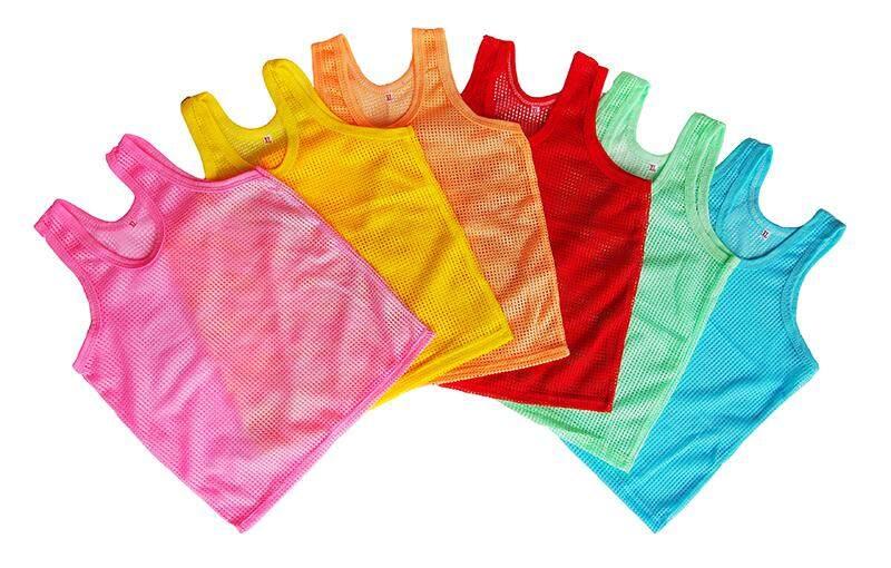 เสื้อรู เสื้อกล้ามเด็ก เสื้อกล้ามรู ระบายอากาศ(แพ็ค6ตัว สุดคุ้ม!!) By Baby And Kids.
