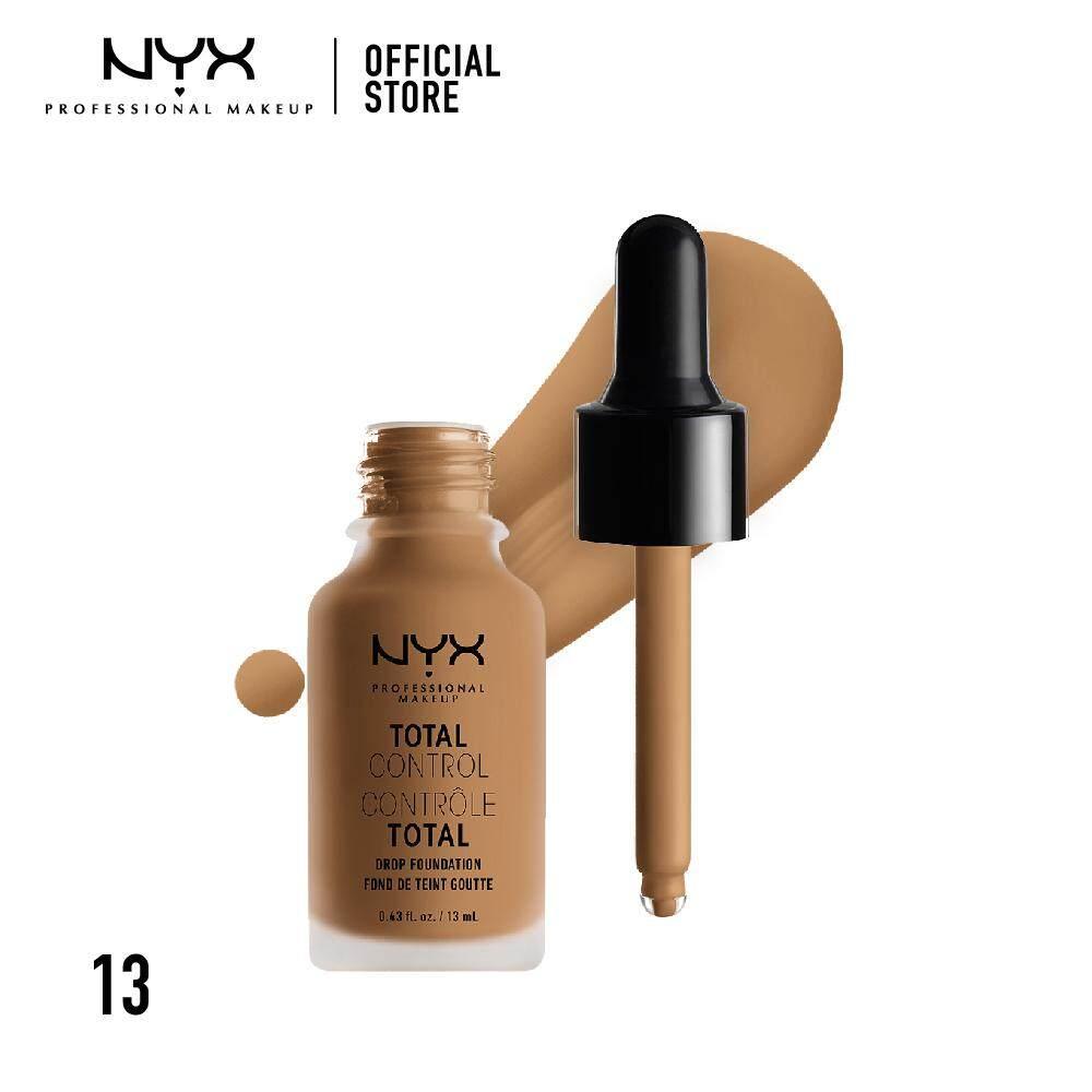 รองพื้นหัวดรอปเกลี่ยง่าย นิกซ์ โปรเฟสชั่นแนล เมคอัพ โทเทิล คอนโทรล ดรอป ฟาวเดชั่น NYX Professional Makeup Total Control Drop Foundation - TCDF13 (รองพื้น)