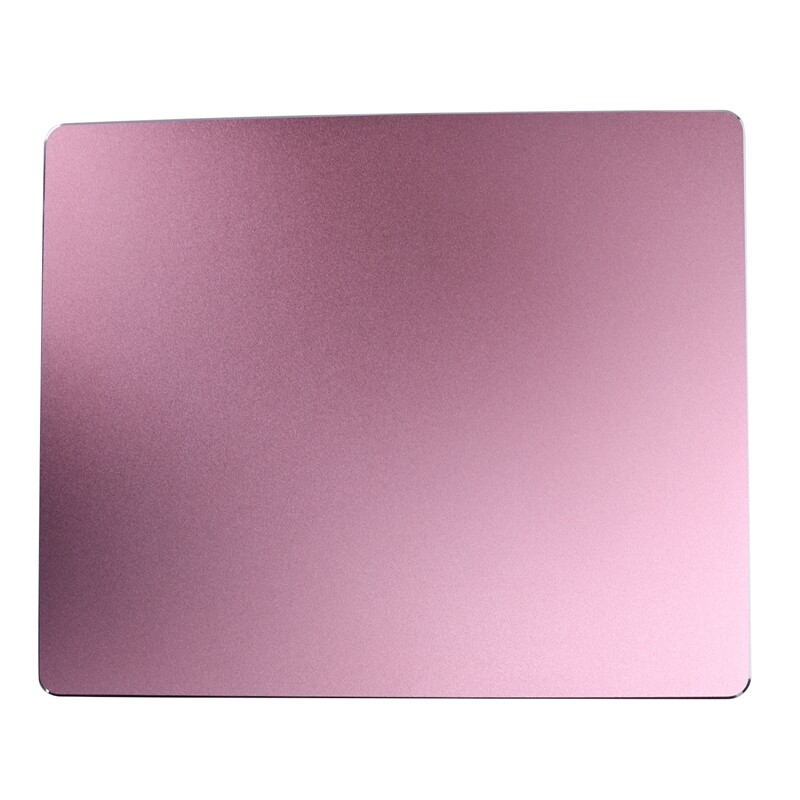 246x202Mm Frosted Matte Slim Aluminum Mouse Pad Pc Computer Skid Laptop Gaming Mousepad For Apple For Mackbook