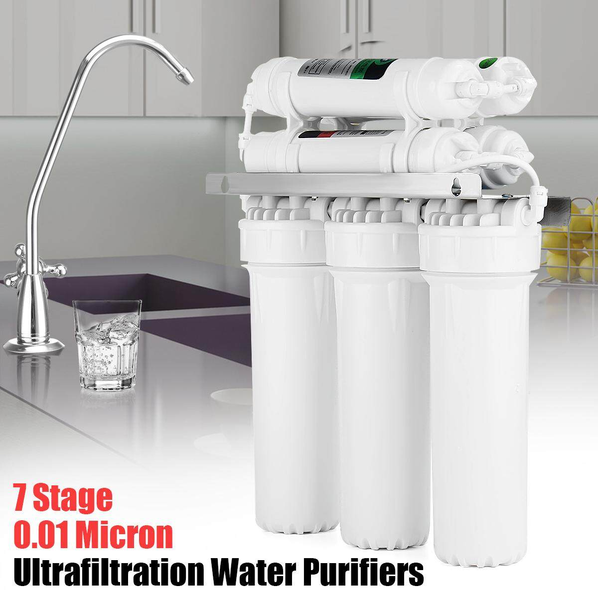 Home Kitchen 7 Stage Water Purifier Ultra Filtration Drinking Water System Filter Purifier By Warmroom.