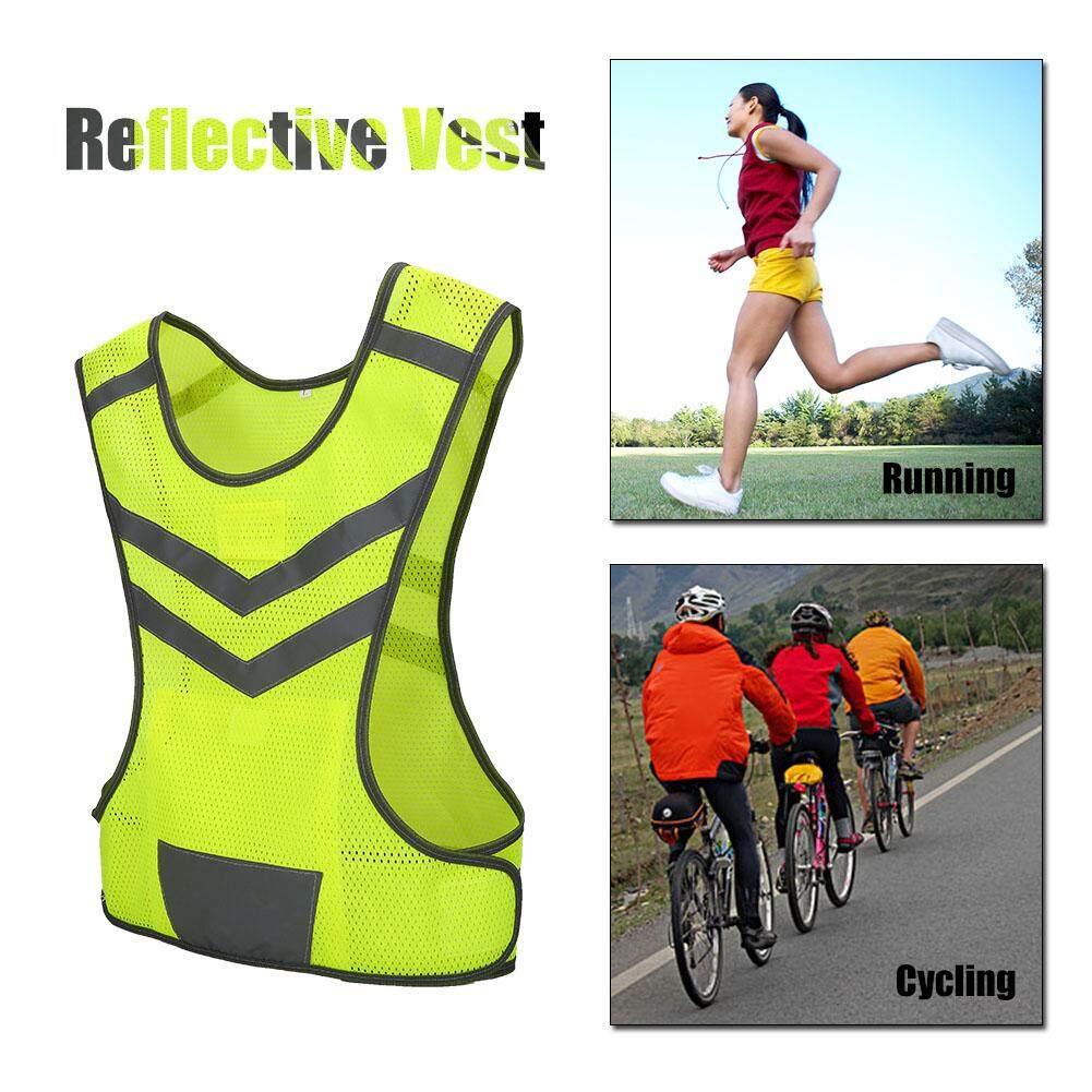 สูงแสงสะท้อนปรับได้ความปลอดภัยสำหรับกีฬากลางแจ้งขี่จักรยานวิ่ง