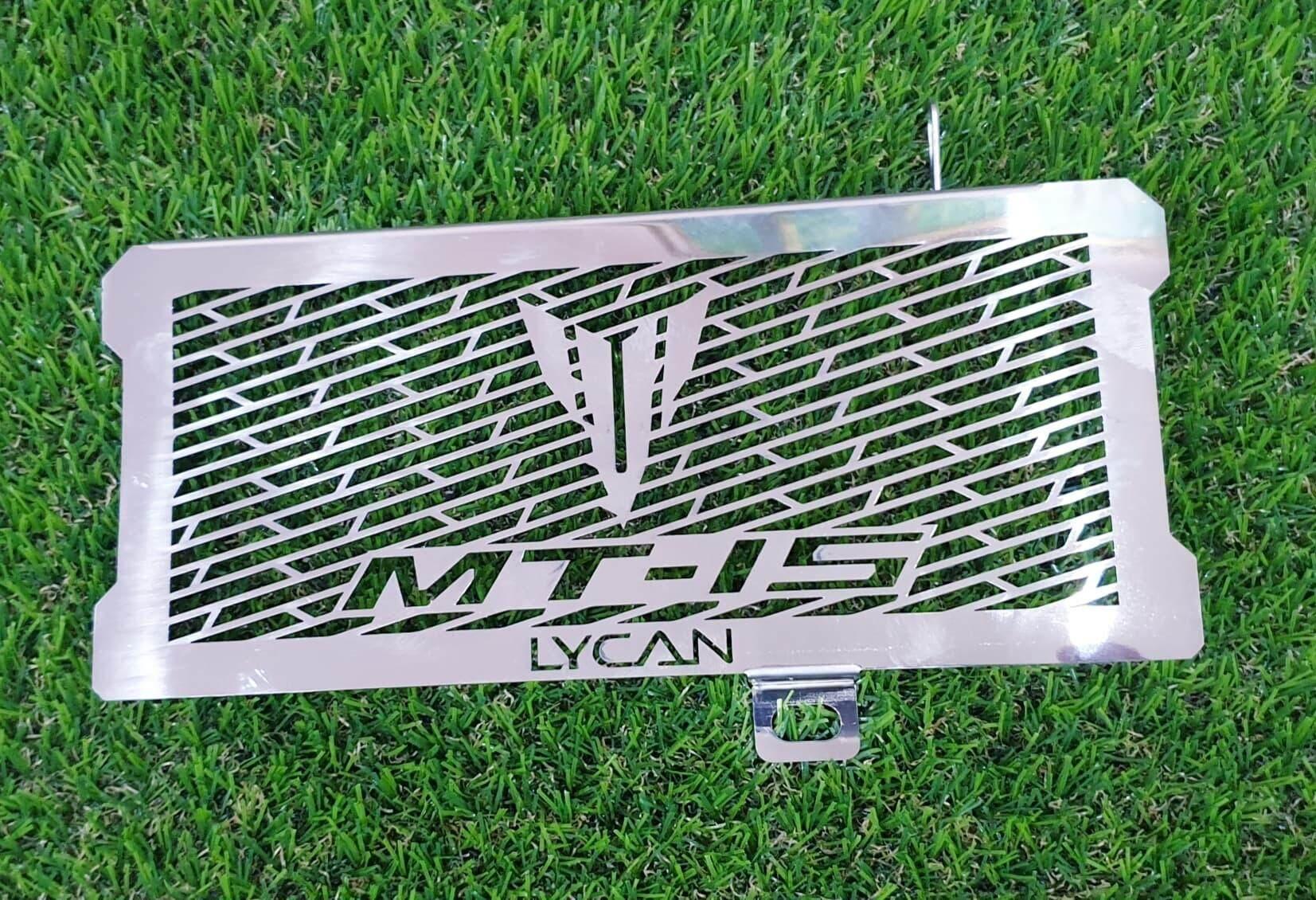 การ์ดหม้อน้ำ Yamaha Mt-15 งานสแตนเลสเกรดดี ใส่ได้ตรงรุ่น By Motor David.