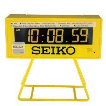 SEIKO รุ่น Mini Time Keeper QHL062Y - Yellow-