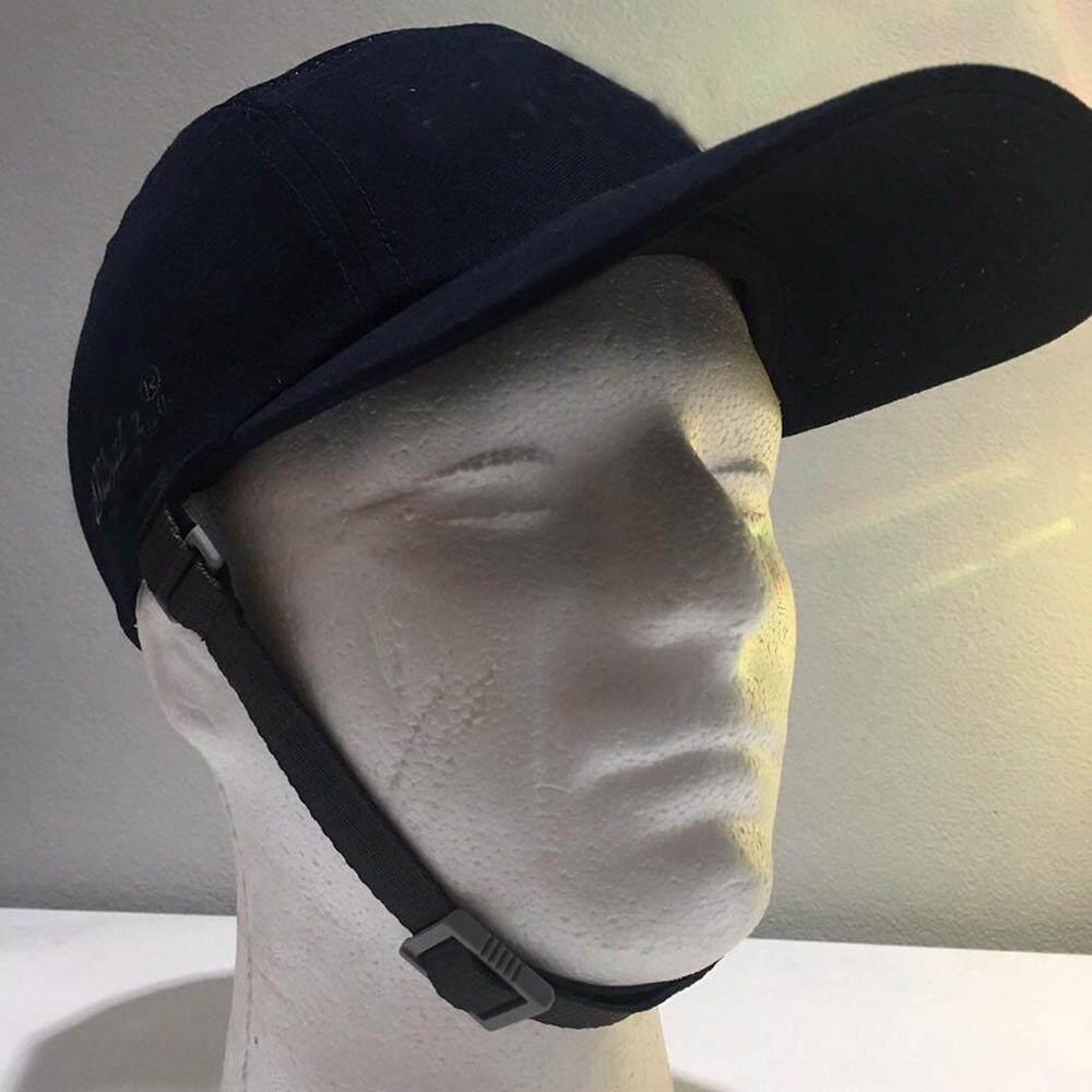 SV หมวกแก๊ปกันกระแทกพร้อมสายรัดคาง-สีกรมท่า