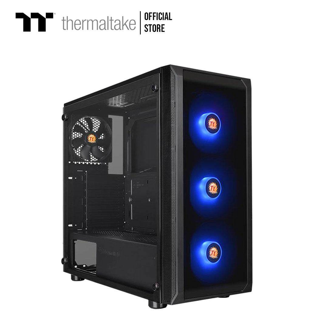 Thermaltake Versa J23 Tempered Glass Rgb Edition Mid-Tower Chassis Case (ca-1l6-00m1wn-01) By Thermaltake Official Store.