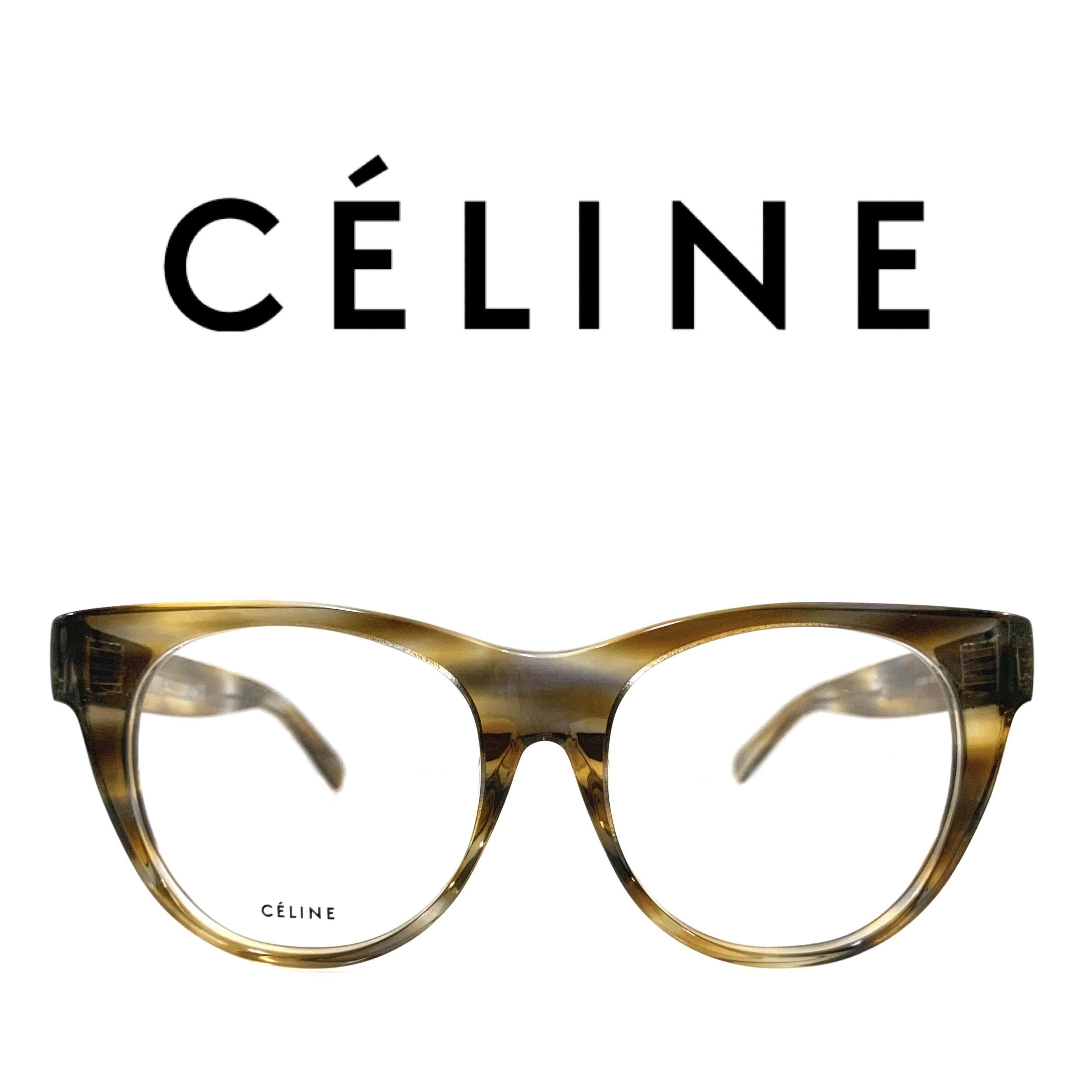 Celine กรอบแว่นตา รุ่น CL50019F 055 ( Multi-color )