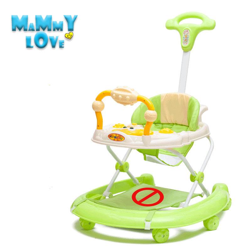 ราคา Mammy love Baby Gear Walkers without foot pad หลากฟังก์ชันผับเก็บได้ป้องกันขาโก่งกันหกล้มรถหัดเดินเด็กพร้อมเสียงเพลง รถเข็นเด็ก