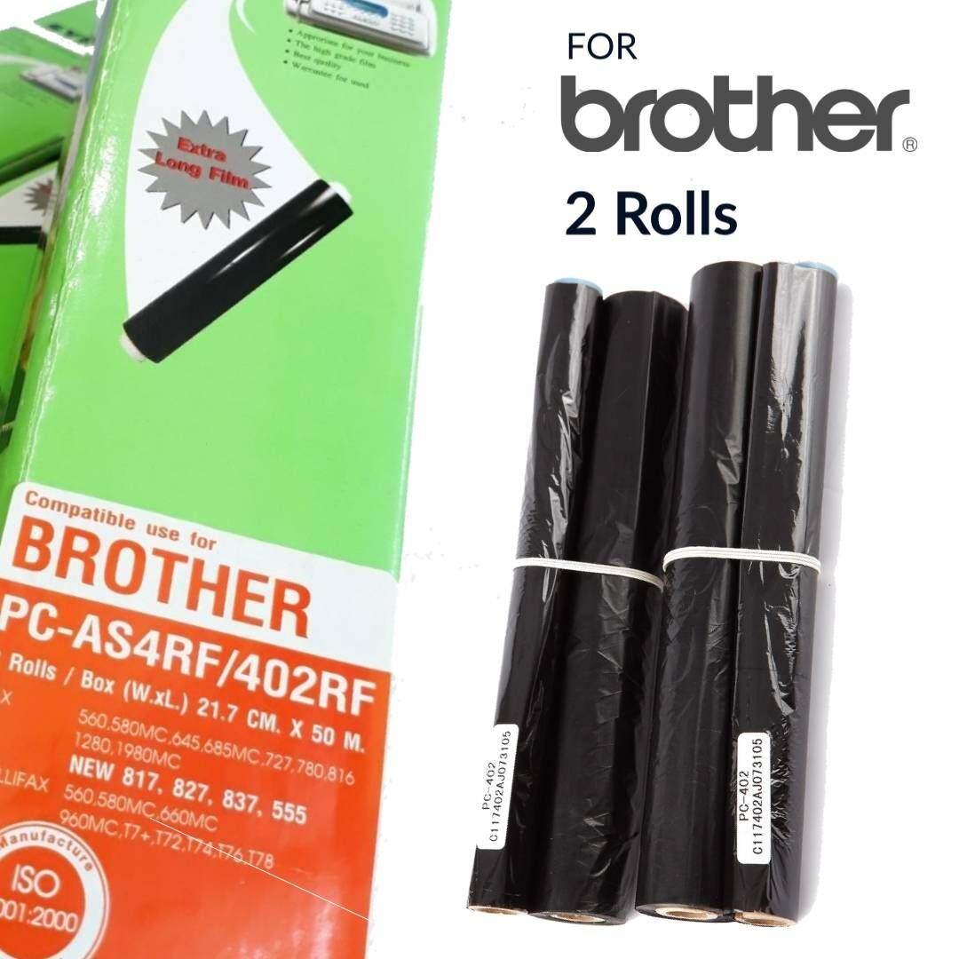 Film Fax Brother Pc-As4rf/402rf 2ม้วน/กล่อง.
