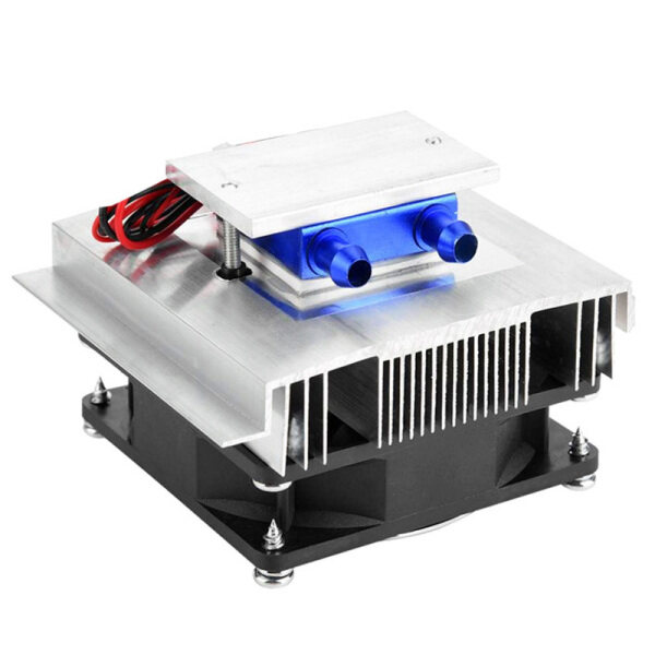DIY Thermoelectric Cooler Cooling System Semiconductor Refrigeration System Kit Heatsink Peltier Cooler for 15L Water