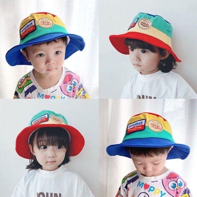 [พร้อมส่ง] หมวกบักเก็ตเด็ก หมวก Bucket Anpanman.