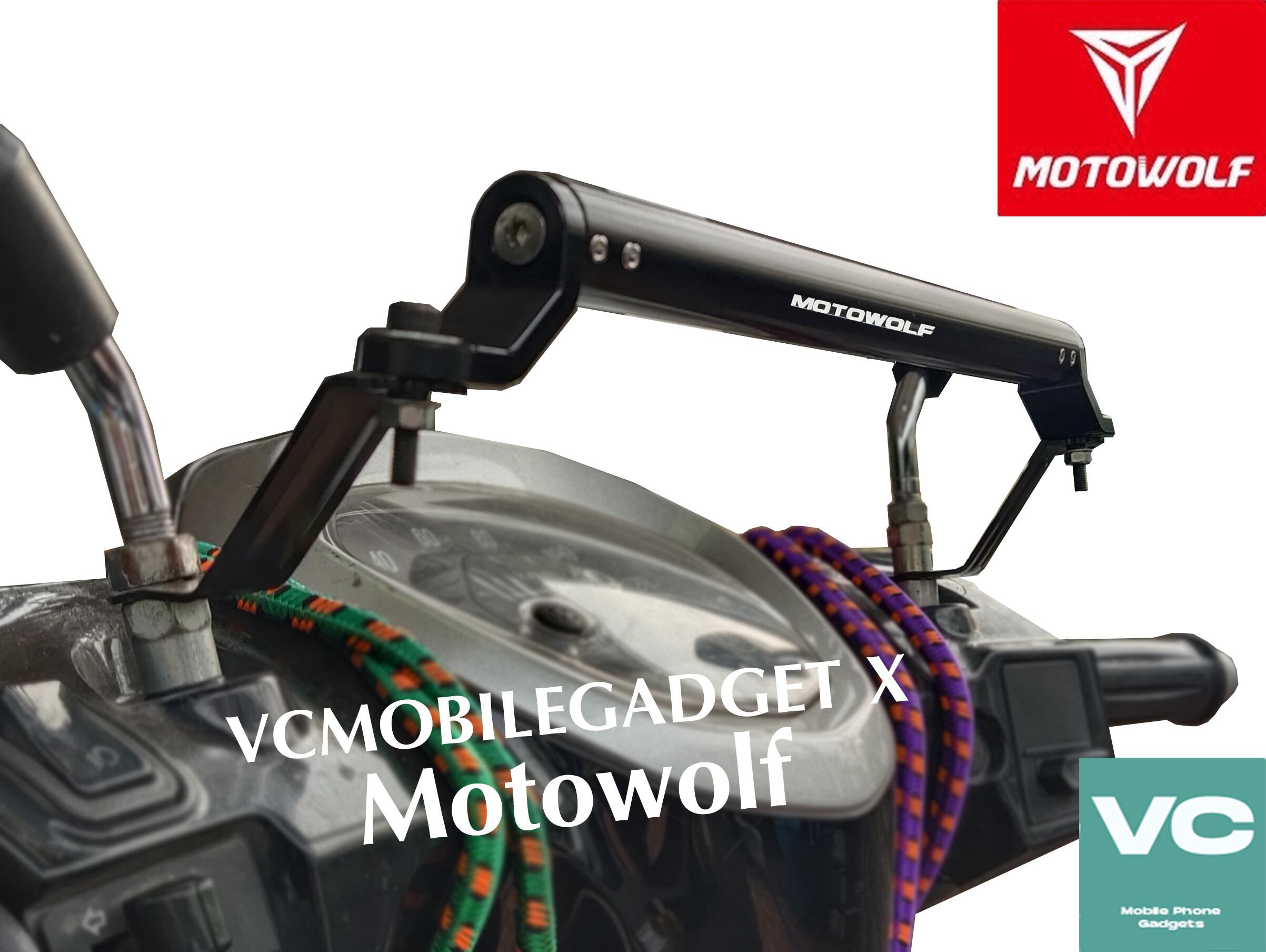 บาร์เสริม Motowolf (แถมฟรี ประแจหกเหลี่ยม, อะไหล่น็อต 2 ตัว) บาร์เสริม Motowolf Mdl 3514 ทำจากเหล้ก.