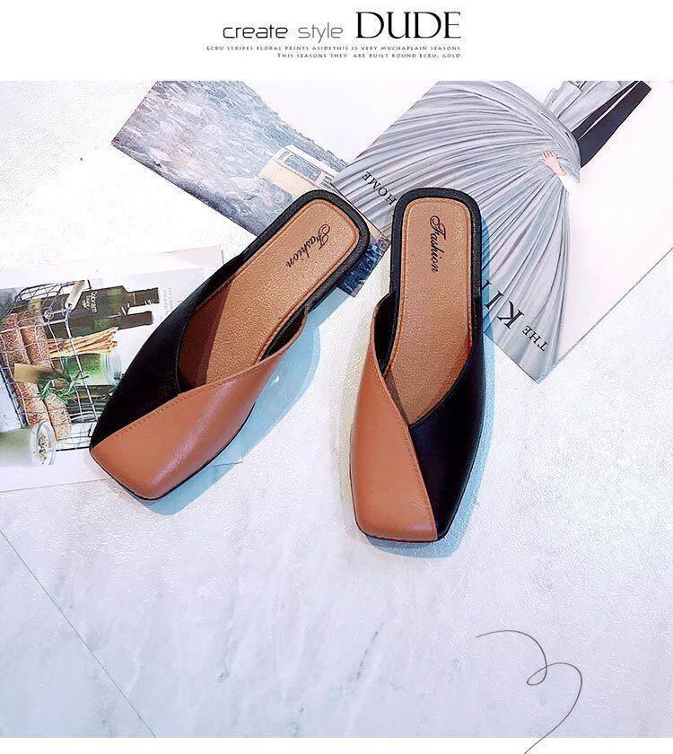 Secen Styles - รองเท้าแตะแบบสวมเปิดส้น ทำจากยางเทียม(pvc) โดนน้ำได้ไม่อัพชื้น ** รุ่นนี้ไซส์เล็กกว่าปกติ 1 ไซส์ หน้าเท้ากว้างมากควรเพิ่ม 2 ไซส์** ((best Seller)) By Secen.