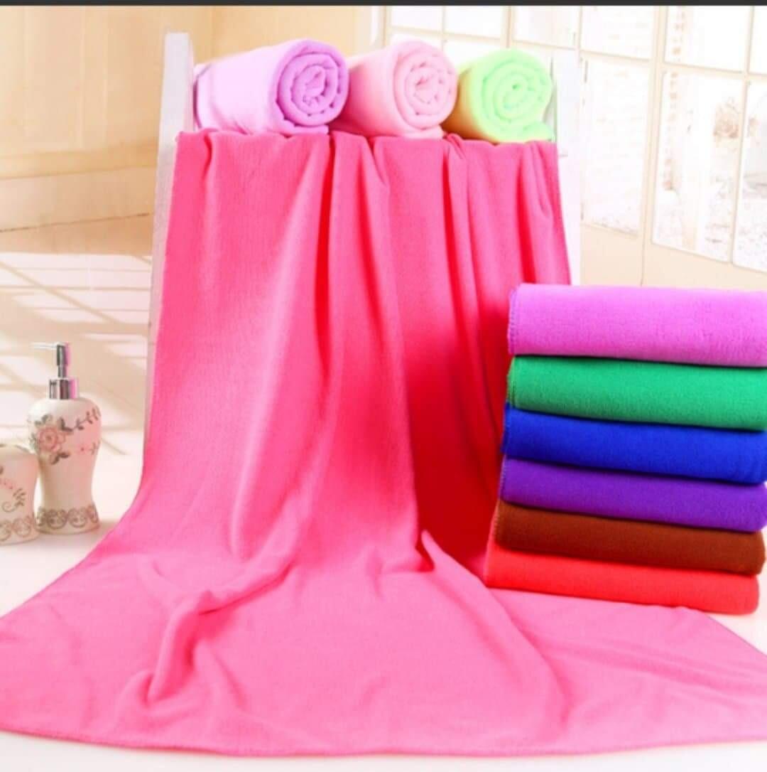 โปรโมชั่น  ผ้าขนหนูนาโน สีสดงดงามน่าใช้ ในราคาอันแสนถูก.