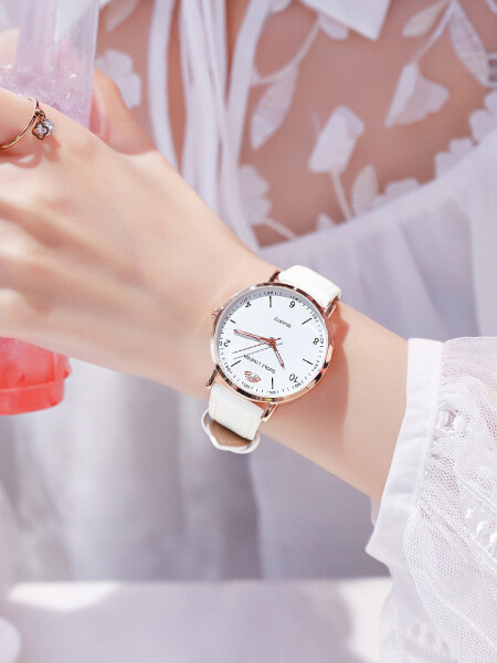 Watches Women Simple Elegant Korean Style Students Fashion Ins Wind GIRLS Waterproof Machinery Electronic Quartz WOMENS Watch Genuine Product Malaysia