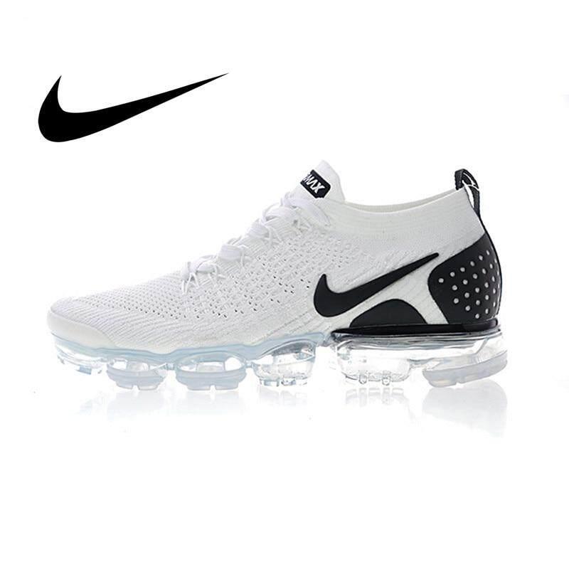 Original auténtico NIKE_AIR VAPORMAX_FLYKNIT 2 0 zapatos para correr para hombre al aire libre zapatos deportivos clásicos 2019nuevos transpirables 942842-009