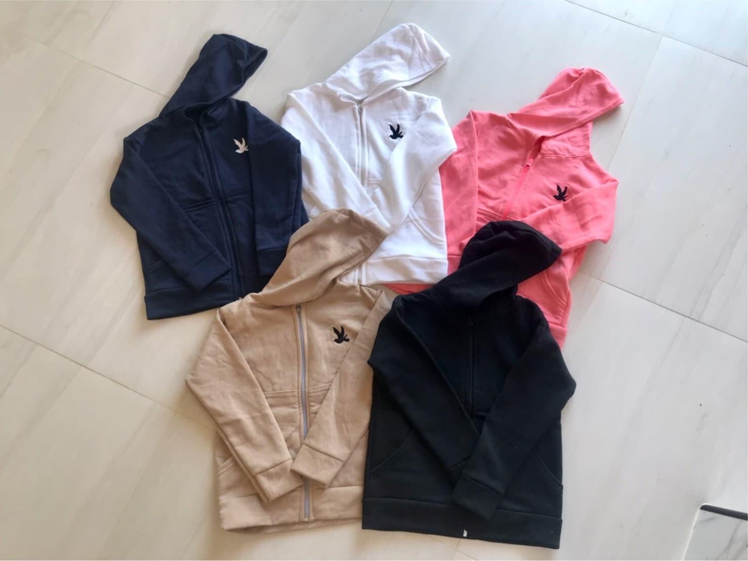 เสื้อผ้าเด็ก เสื้อแขนยาวเด็ก เสื้อกันหนาวเด็ก (อายุ1-6ปี).