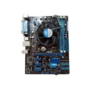 เมนบอร์ด พร้อม Core I5-2300// I3-2100+ซิ้งพัดลม+mainboard Asus P8h61-M Lx R2.0 Socket1155 Ddr3 มี Vga ออนบอร์ด มีฝาหลัง มีฝาหลัง สินค้าตามรูปปก ฟรีค่าส่ง.