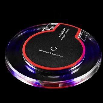 Fantasyแท่นชาร์จไร้สาย Wireless Charger (Black) for iPhone