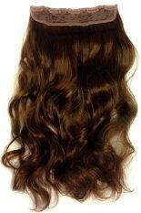 ขาย Fashion Beauty Hair Piece แฮร์พีช คลิปต่อผมลอน น้ำตาลเข้ม Fashionbeauty ผู้ค้าส่ง