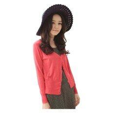 ขาย Fashion On Art เสื้อคลุม คาร์ดิแกน สีแดง ถูก ใน ปทุมธานี