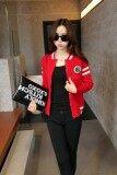 ราคา Fashionstory เสื้อคลุมลายอาร์มเสือ สีแดง Fashionstory กรุงเทพมหานคร