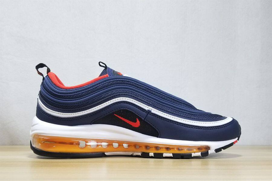air max 97 navy blue and red