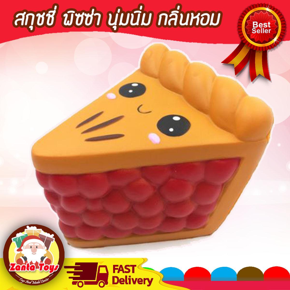 สกุชชี่ Squishy พิซซ่า เค้ก แซนด์วิช สุดน่ารัก ของเล่นเด็กสุดฮิต นุ่มนิ่ม มีกลิ่นหอม Squishy ที่บีบลดความเครียดการ์ตูนคิตตี้น่ารักปล่อยกลิ่นช้าของเล่น ของเล่นตุ๊กตาสกุชชี่บีบ รูปยูนิคอร์น ของเล่นบรรเทาความเครียด สำหรับเด็ก.