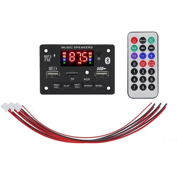 Bảng giá 6-12V MP3 Decoder Board Audio Module USB TF Radio Bluetooth 5.0 Wireless Music Car Player Audio Module Phong Vũ