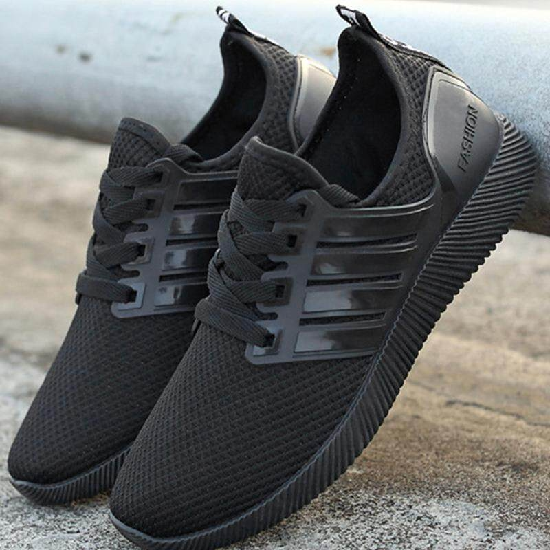 รองเท้ารองเท้าผ้าใบผู้หญิงสีดำ รุ่น รองเท้ากีฬาผู้ชายและผู้หญิงรองเท้าวิ่งน้ำหนักเบาและสะดวกสบาย Women Men Sneaker Running shoes LTH046