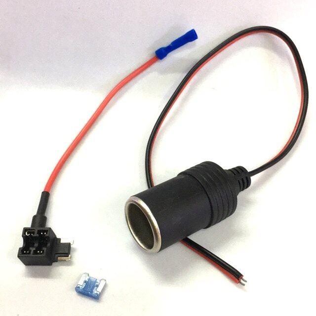 ▨♛◊ ชุดฟิวแท็บMicor fuse tap แถมฟิวส์-ชุดฟิวแท็ปตีอซ่อนกล้องติดซ่อนกล้องติดรถยนต์
