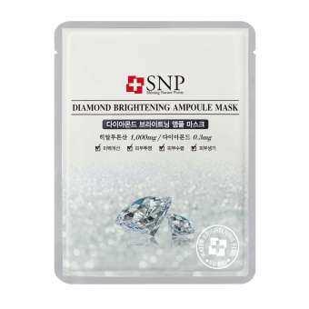 แนะนำ SNP DIAMOND BRIGHTENING AMPOULE MASK เอสเอ็นพี ไดมอนด์ ไบร์ทเทนนิ่ง แอมพลู มาส์ก