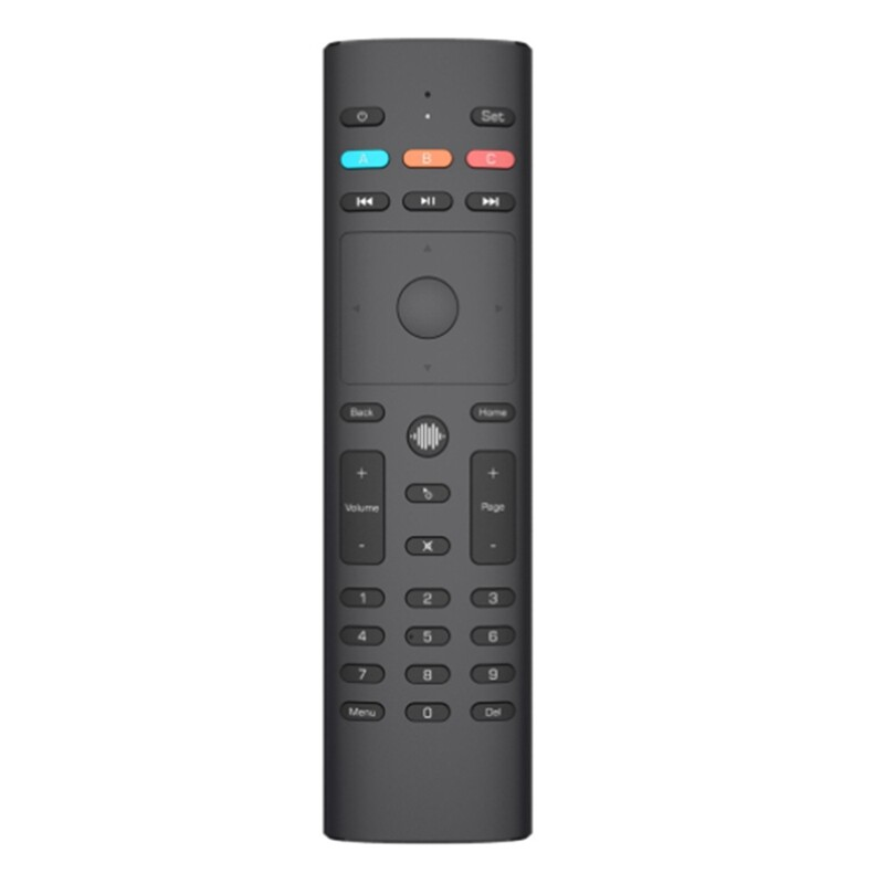 G40 Voice Search Air Mouse IR Learning Gyro 2.4G Smart Remote Control for Apple TV for Roku for Vizio Android TV BOX