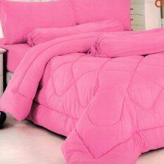 ขาย ซื้อ Fd Premium ผ้าปูที่นอน 5 ฟุต 5 ชิ้น รุ่น 5Aa0124 สี ชมพู ใน กรุงเทพมหานคร