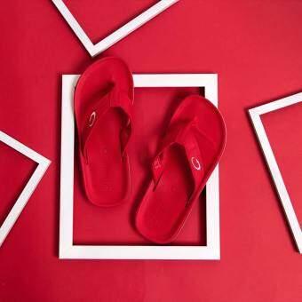 GAMBOL แกมโบล รองเท้าแตะ (นุ่ม) รุ่น GW11267 - สีแดง
