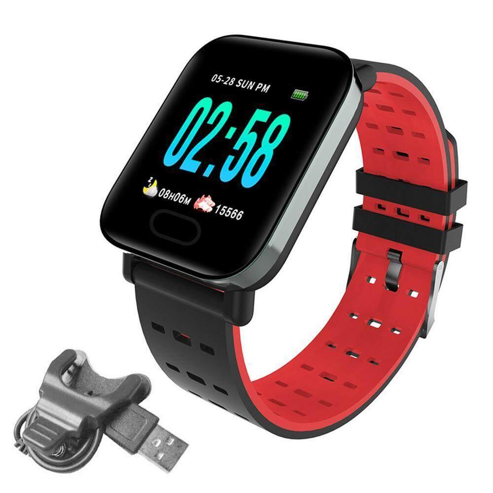 Top-Sky 1.3 นิ้ว Ip67 กีฬาวิ่งกันน้ำ นาฬิกาสมาร์ท Smart Watch A6 By Topsky.